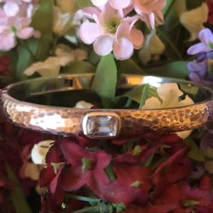 RARE Silpada Sterling Silver Gemstone Bracelet